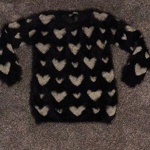 Anthropologie Finn & Clover Eyelash sweater